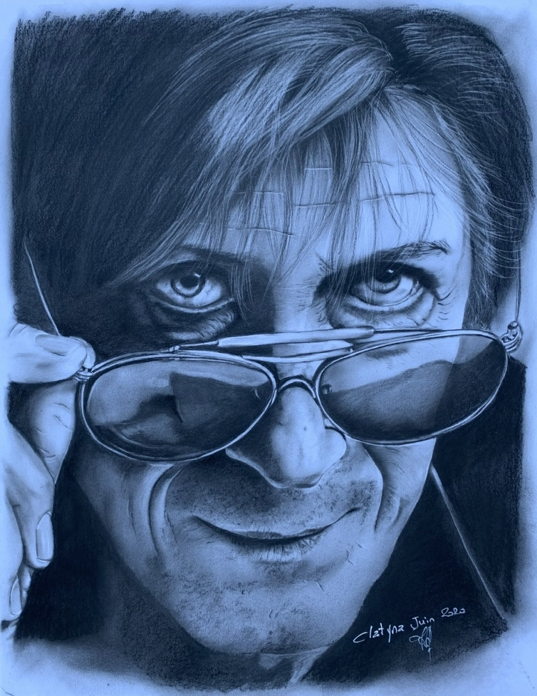 Jacques Dutronc by clatyna